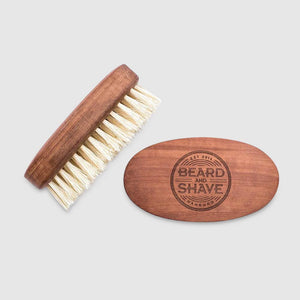 Beard and Shave - Big Beard Brush Vegan – Große Bartbürste Vegan