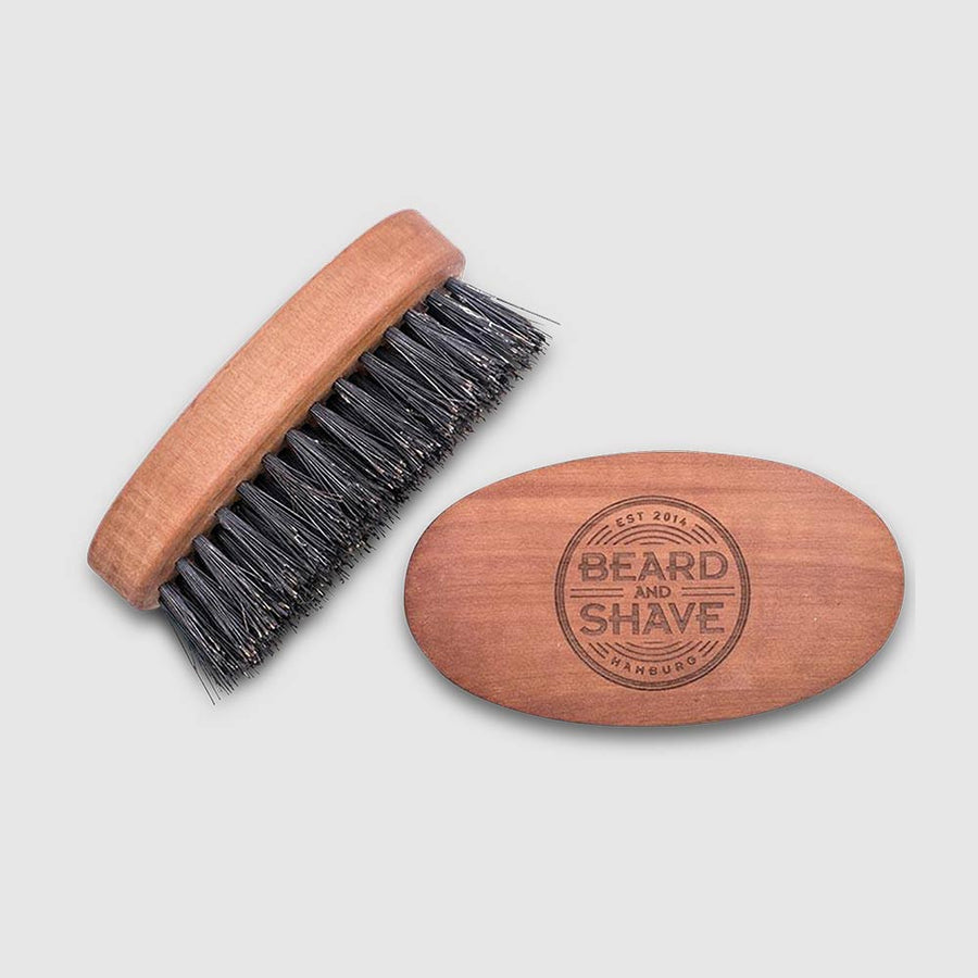 Beard and Shave - Big Beard Brush Strong – Große Bartbürste Stark