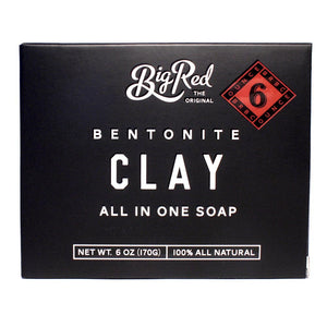 Big Red All-In-One Soap - Clay - Beard and Shave - 1