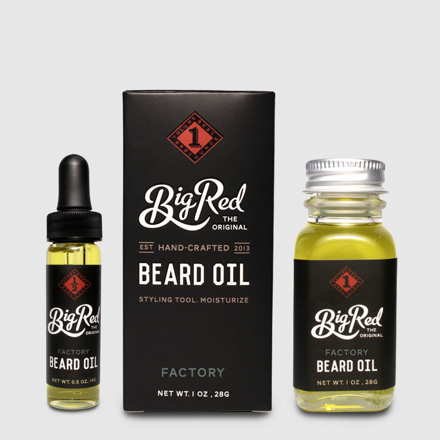 BigRed - Beard Oil Factory - Bartöl