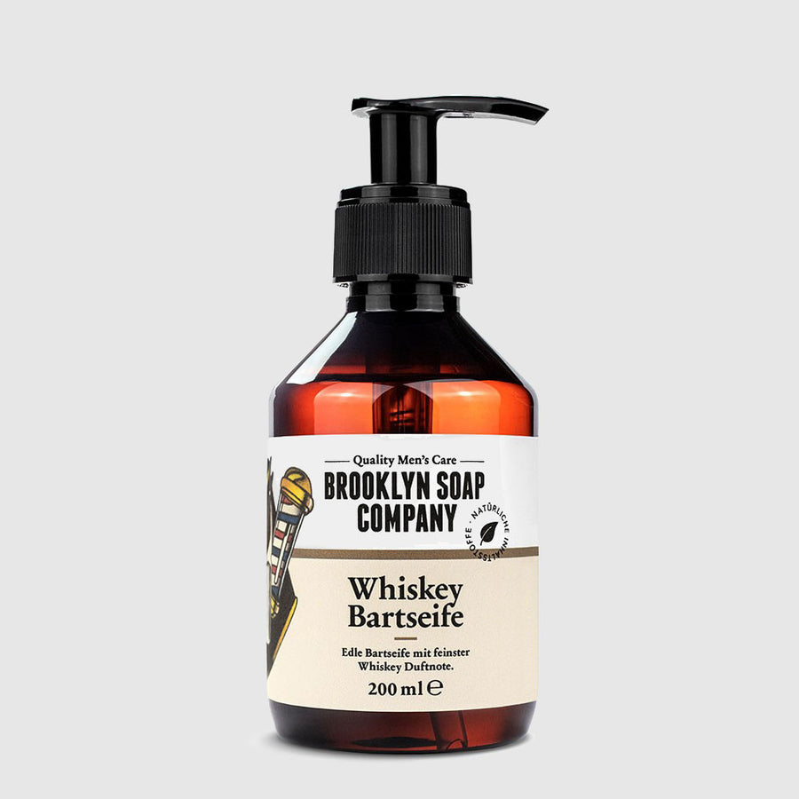Brooklyn Soap Company – Whiskey Bartseife