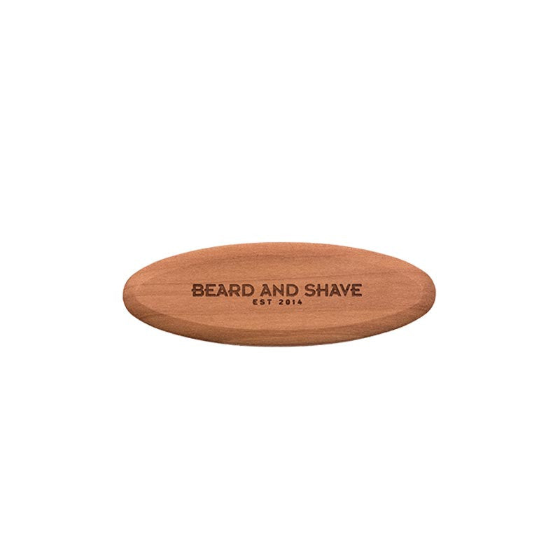 Beard and Shave - Small Beard Brush Vegan – Kleine Bartbürste Vegan