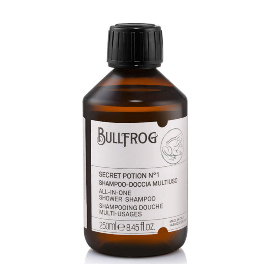Bullfrog – All-in-One Shower Shampoo Secret Potion N.1 – Gesicht, Körper & Haar