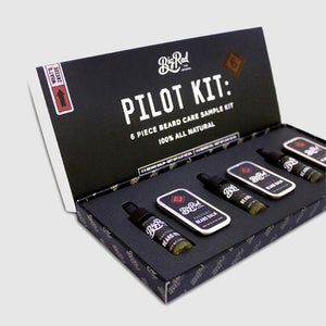 Bartpflege Set - Big Red - Pilot Kit