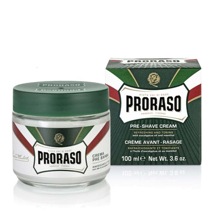 Proraso - Green - Pre Shave Cream 100 ml - Beard and Shave