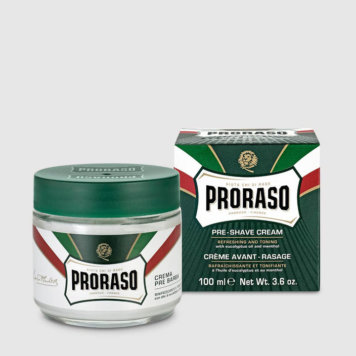Proraso - Green - Pre Shave Cream 100 ml – Normal Skin