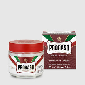 Proraso - Red - Pre Shave Cream 100 ml – Dry Skin