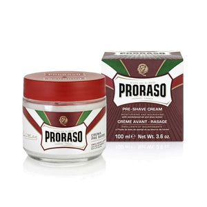 Proraso - Red - Pre Shave Cream 100 ml - Beard and Shave