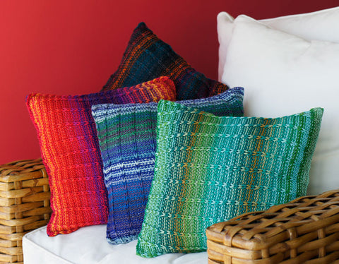 """Brighten Up"" PIllow cover Knit Along"