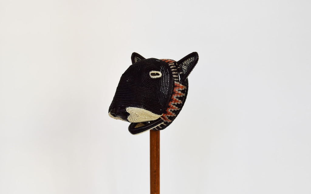 Panamanian ceremonial panther mask