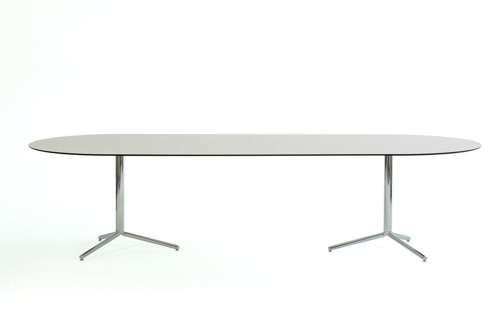 Two Three Four oval table