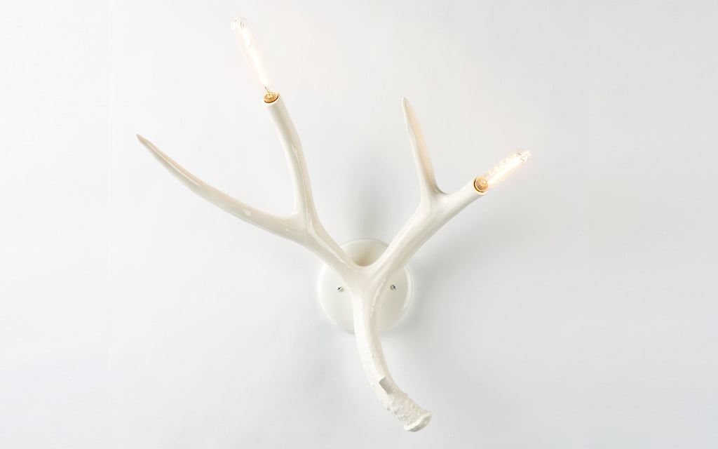 Superordinate Antler wall lamp