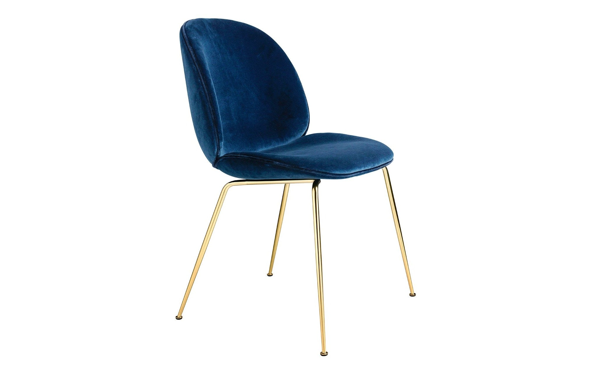 Beetle Dining Chair Upholstered With Conic Base Scp