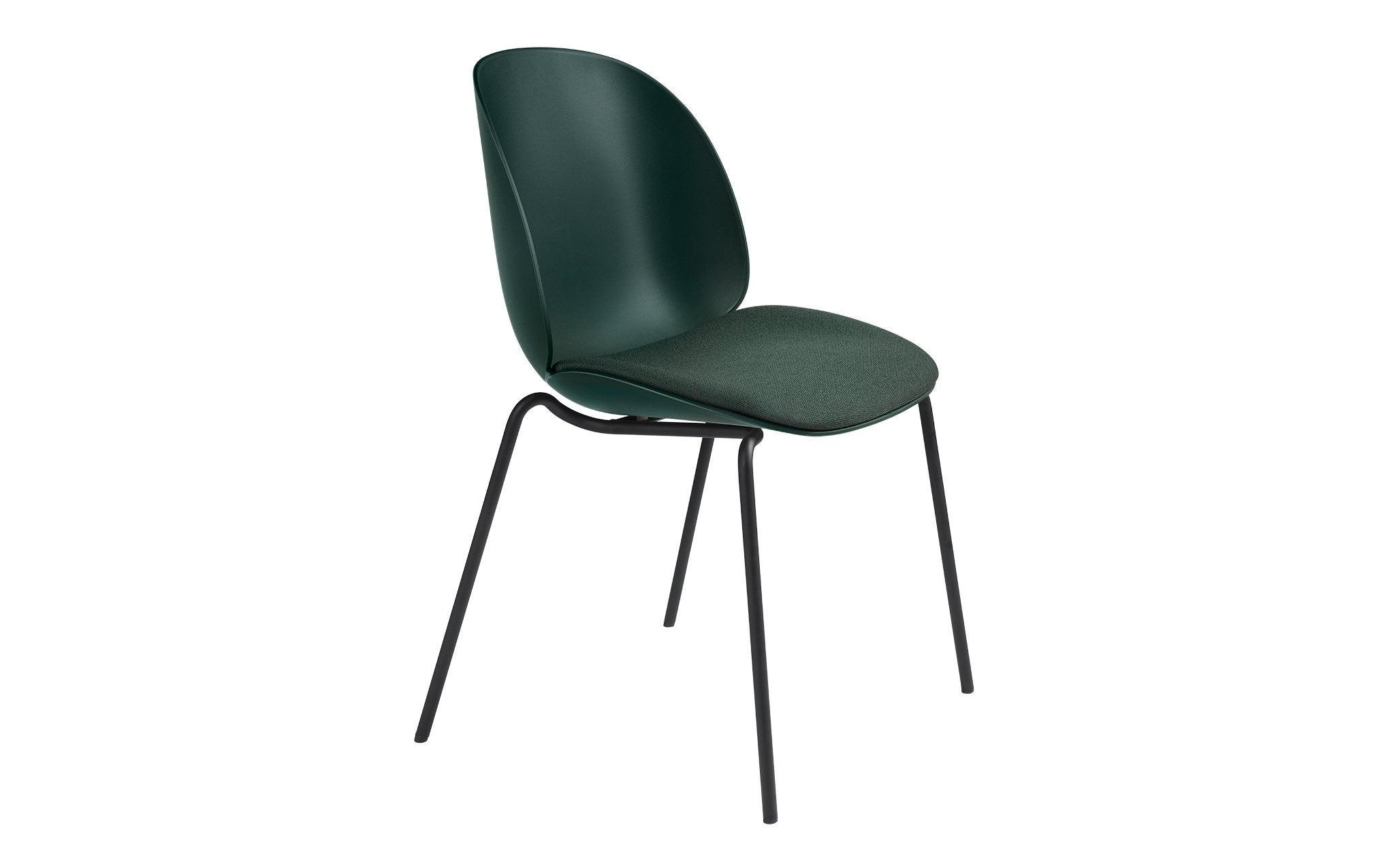 Beetle Dining Chair Seat Upholstered With Stackable Base Scp