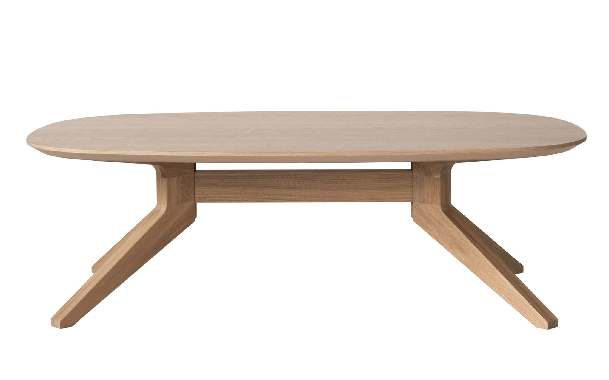 Cross Oval Coffee Table Matthew Hilton For Case Scp