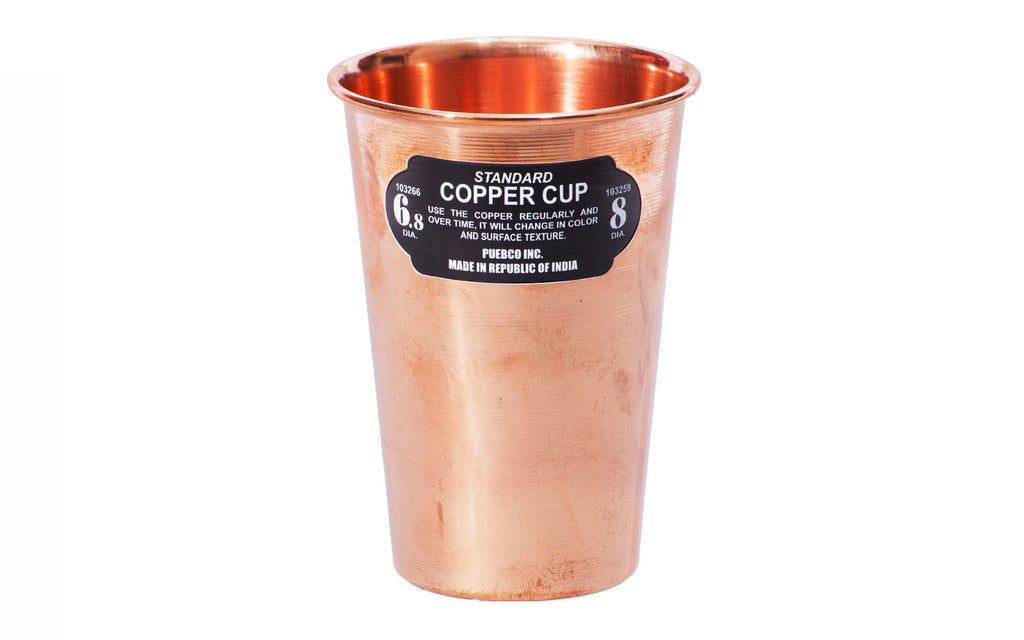 Stackable copper cup