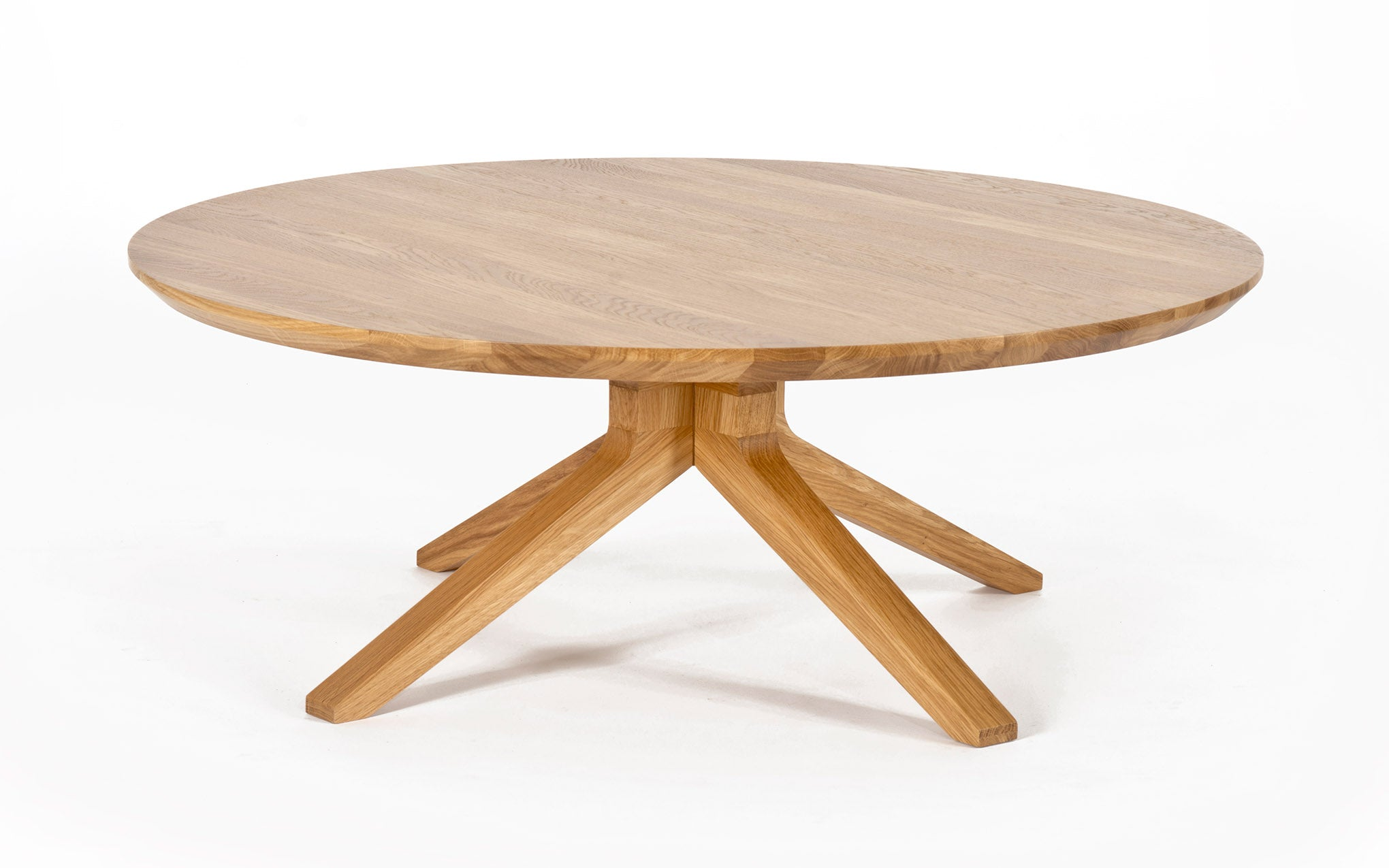 Round Coffee Table Wood.Cross Round Coffee Table