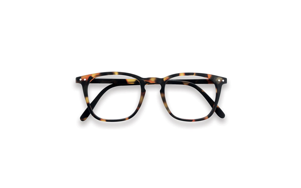 Tortoiseshell square frame reading glasses