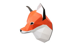 Build Your Own 3D Model - Small Fox
