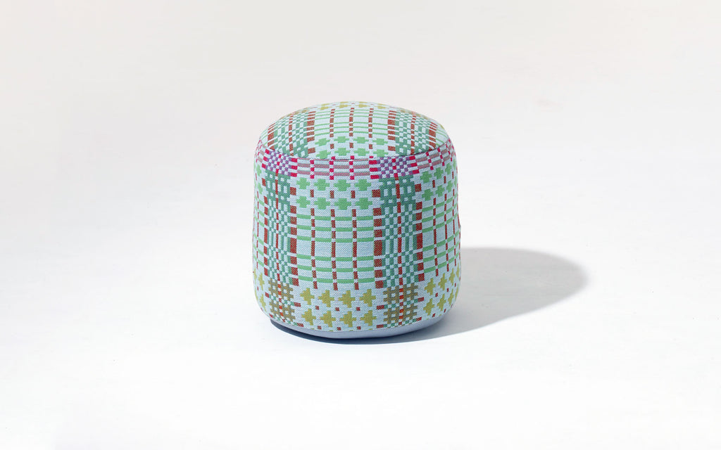 Henry pouffe in Field Day