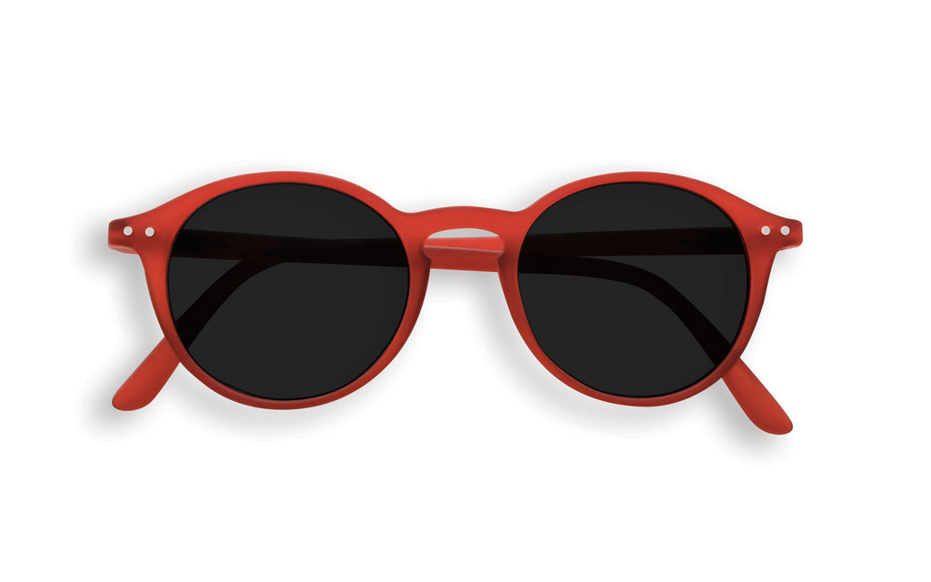 Children's Red round frame sunglasses