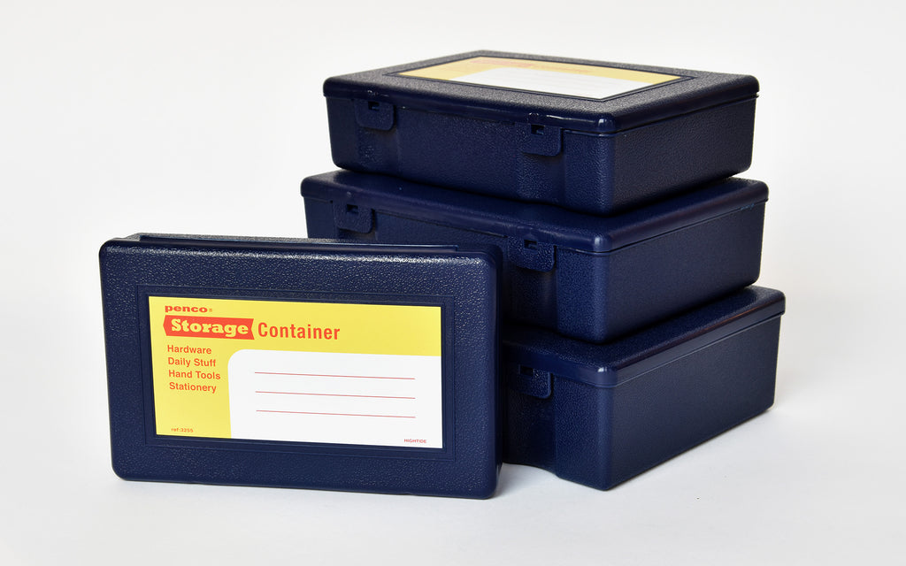 Storage Containers set - blue
