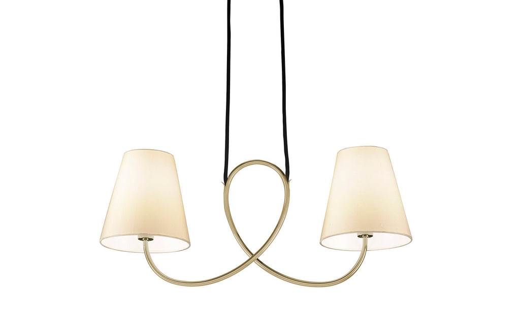 Posthorn pendant ceiling light