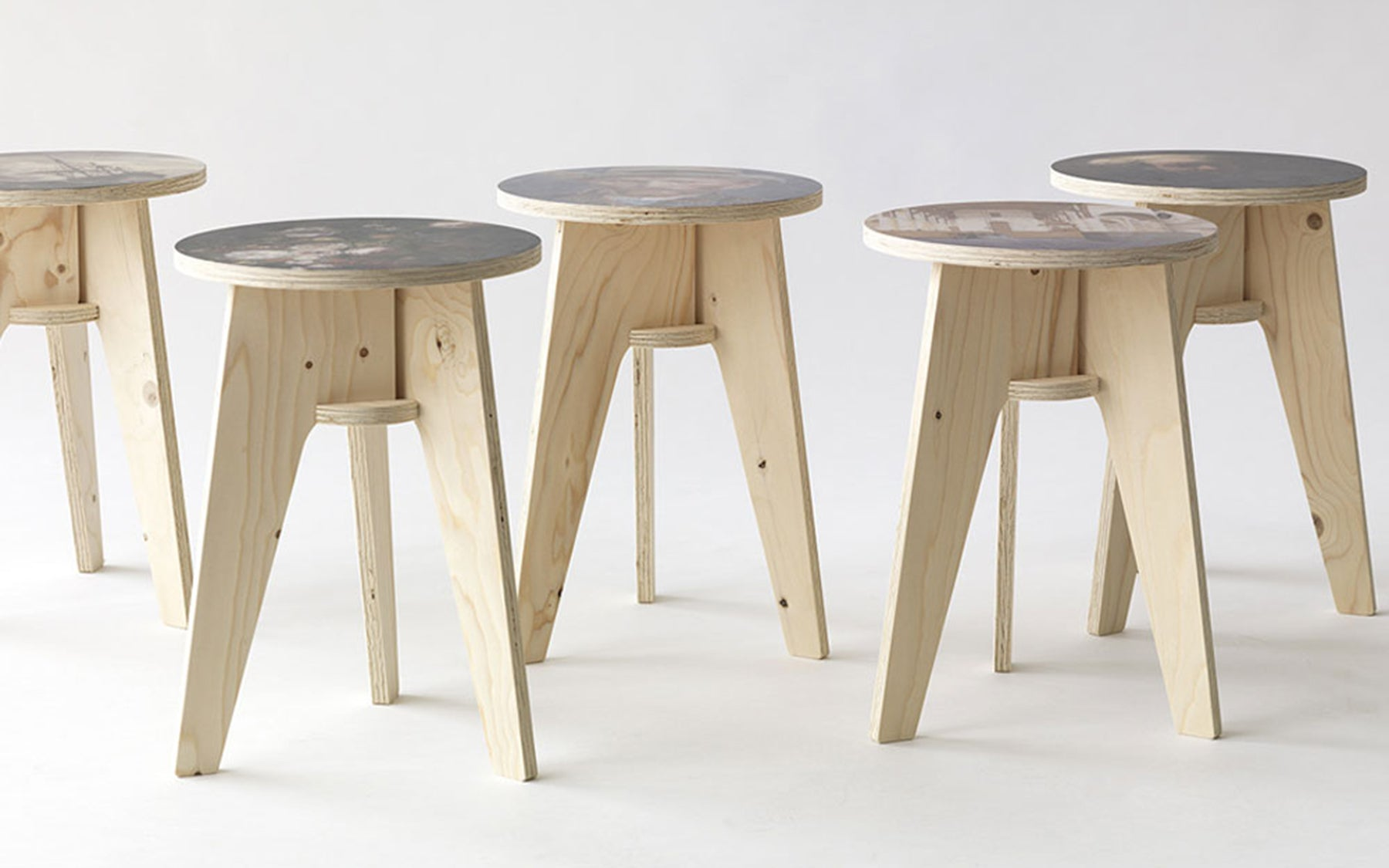 Peachy Printed Crisis Stool Caraccident5 Cool Chair Designs And Ideas Caraccident5Info