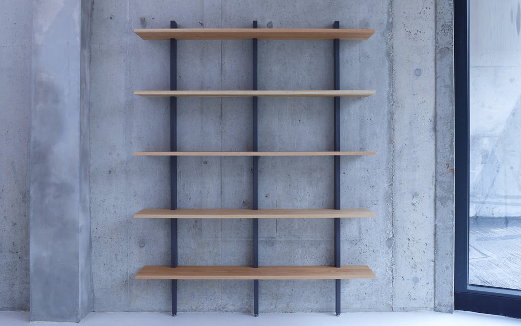 Crosscut shelving - large