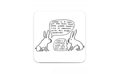 David Shrigley Coasters