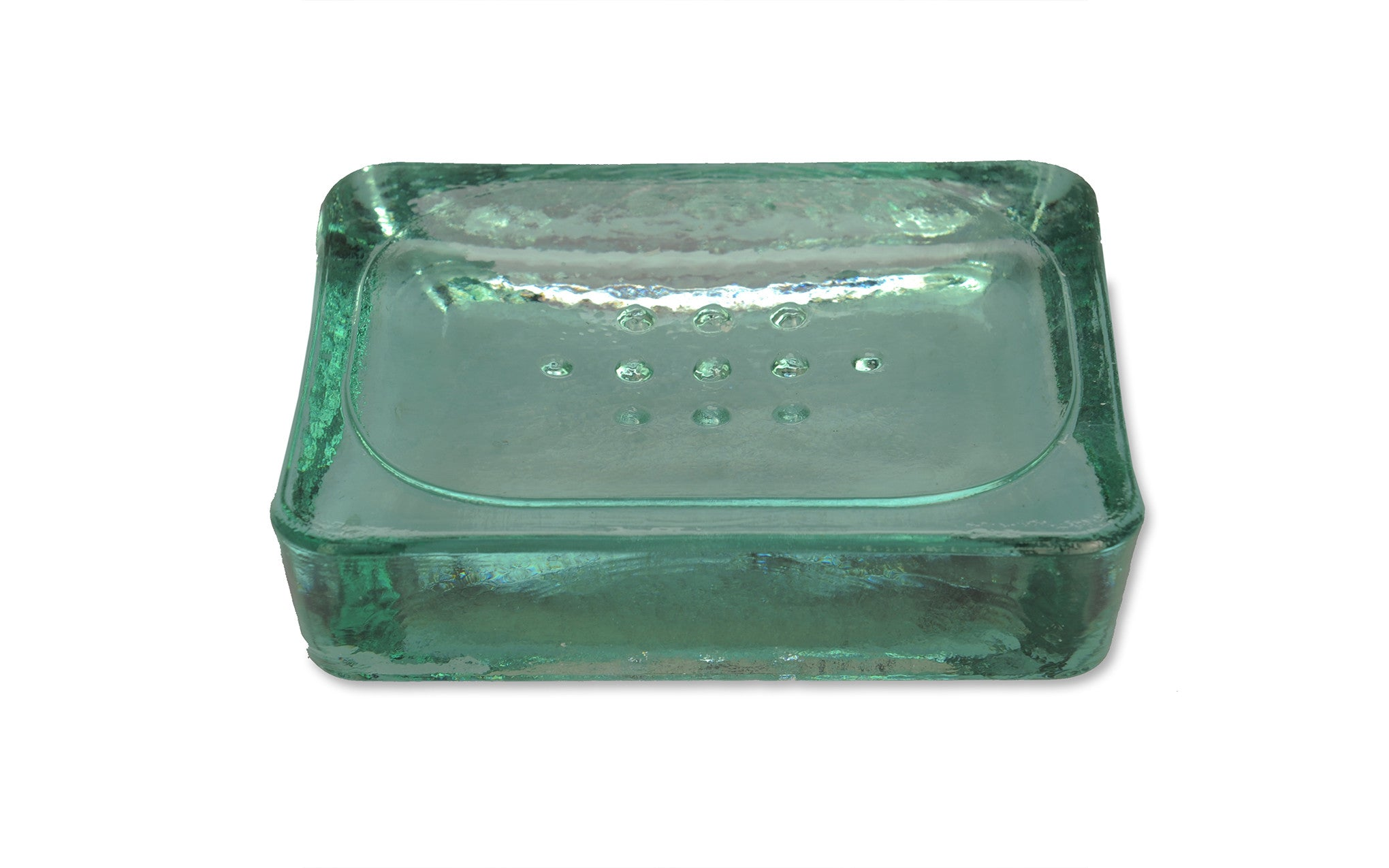 Recycled Glass Soap Dish Scp