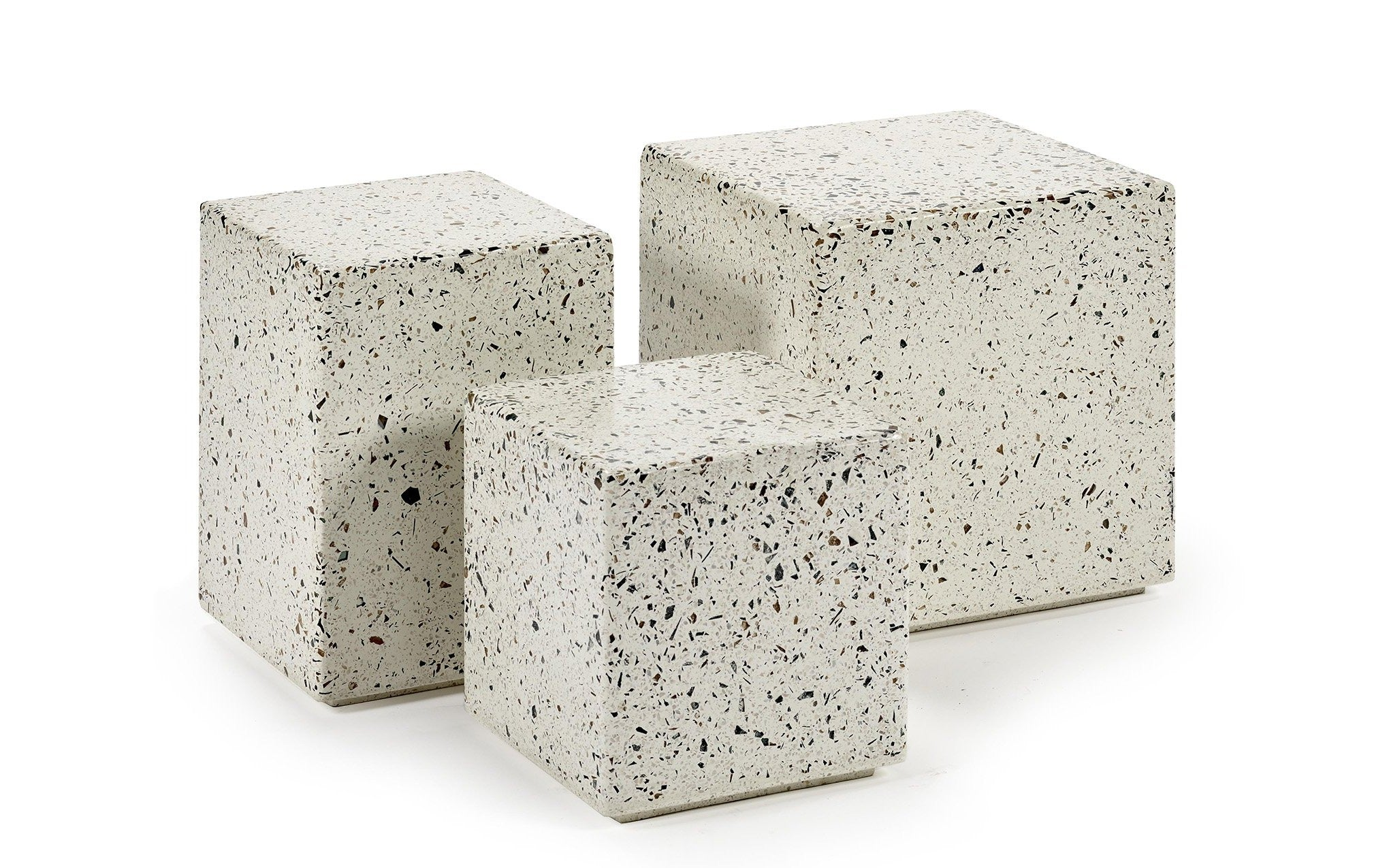 Fine Terrazzo Side Tables Gmtry Best Dining Table And Chair Ideas Images Gmtryco