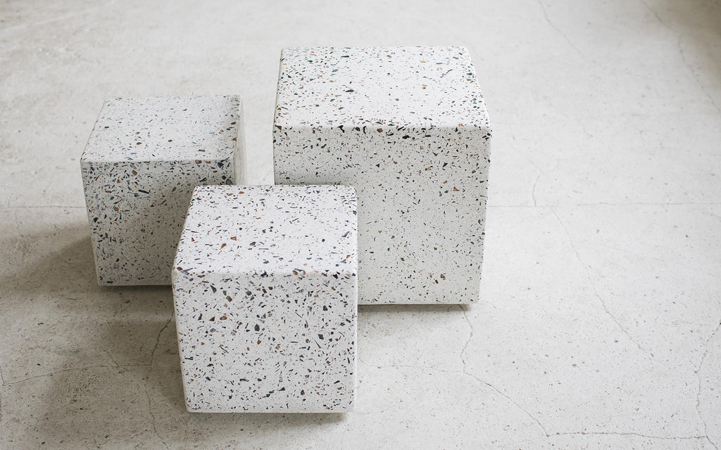 Fantastic Terrazzo Side Tables Scp Gmtry Best Dining Table And Chair Ideas Images Gmtryco