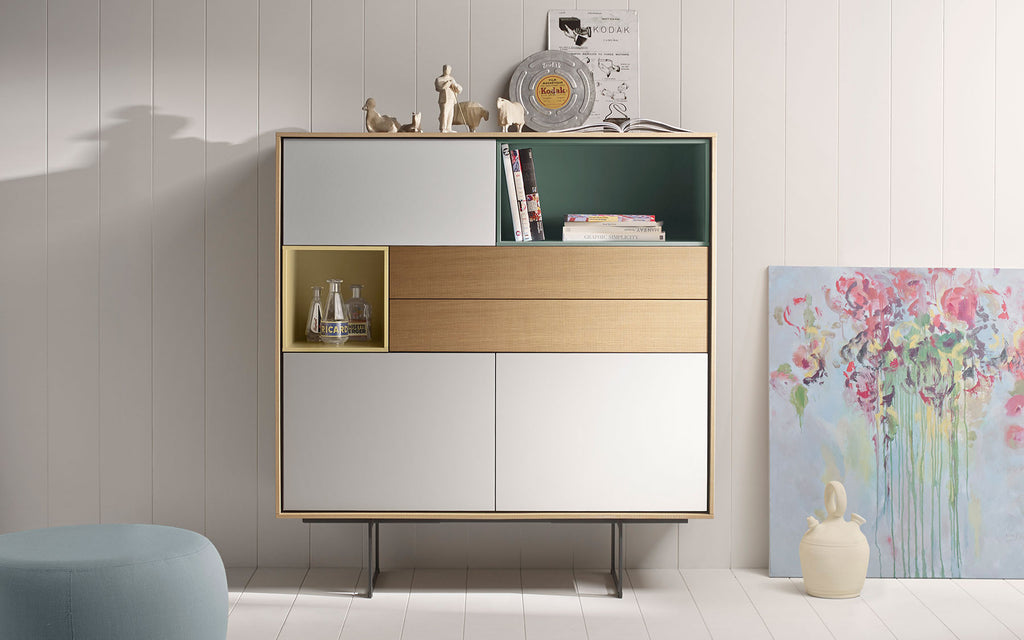 Aura tall sideboard