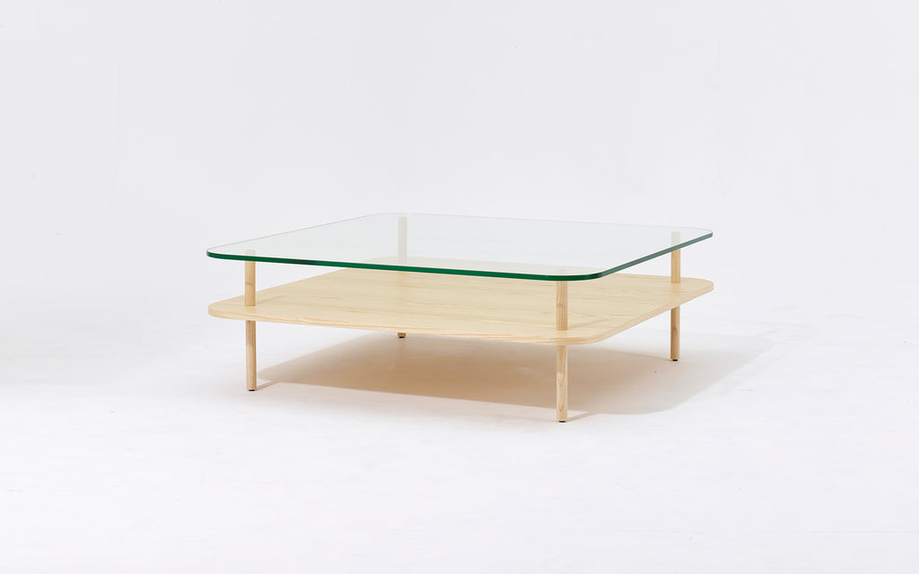 Unison square coffee table