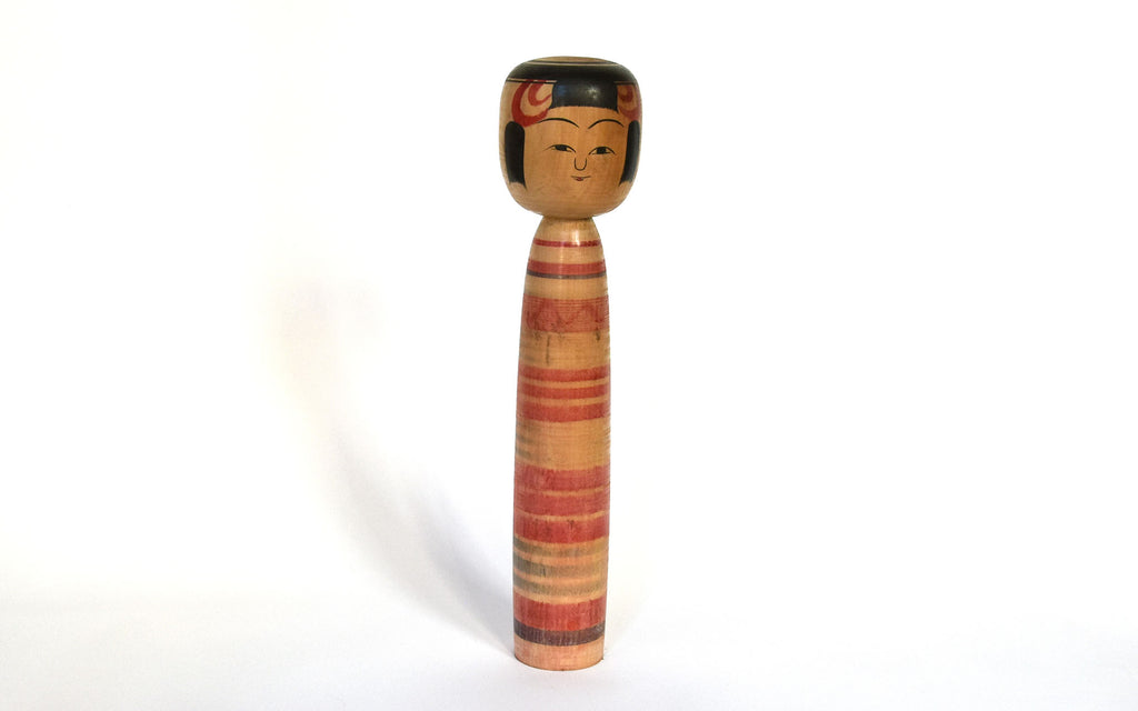 Antiques Vintage Wooden Signed Japanese Kokeshi Dolls X 4 Other Asian Antiques