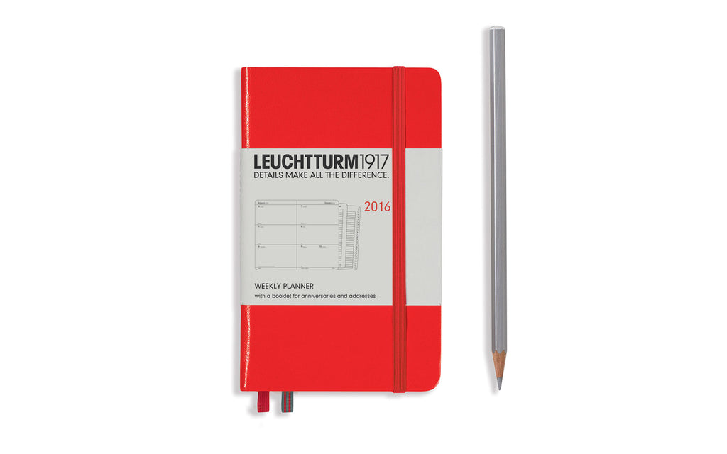 Leuchtturm Weekly Diary - pocket