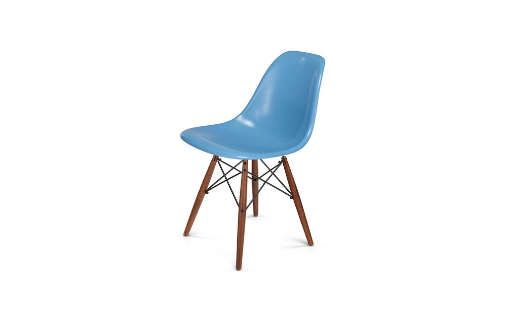 Dowel shell side chair - walnut