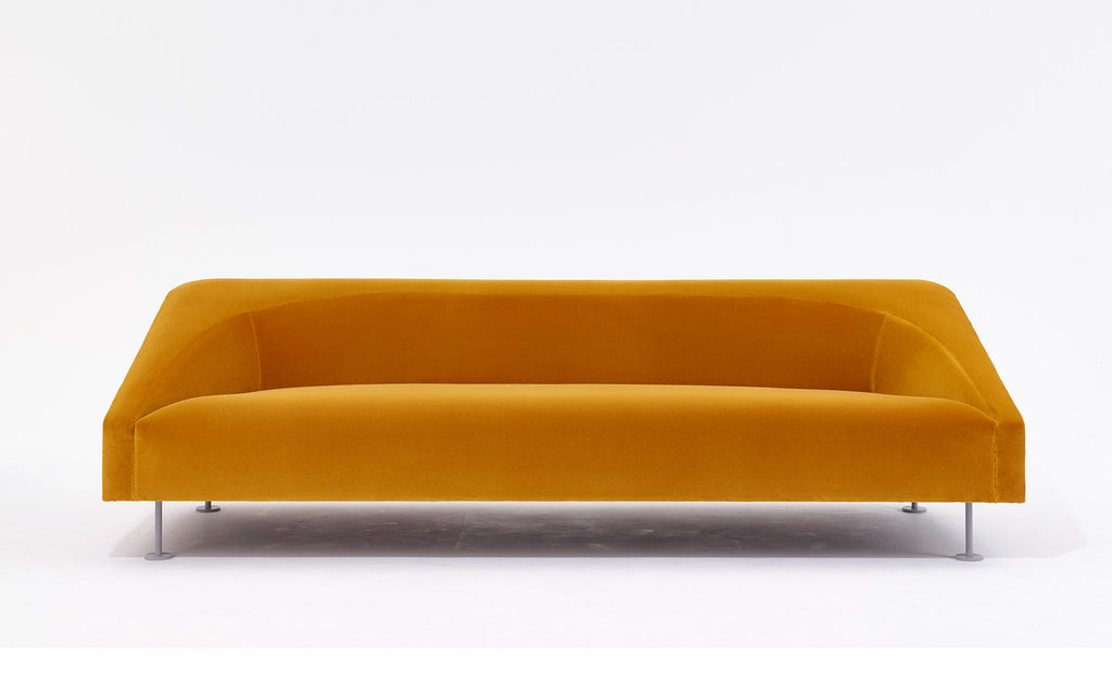 Linear three seat sofa