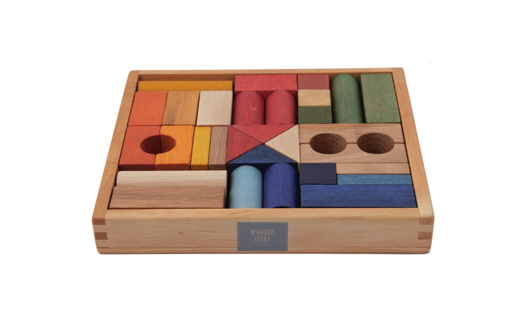 Rainbow Blocks toy