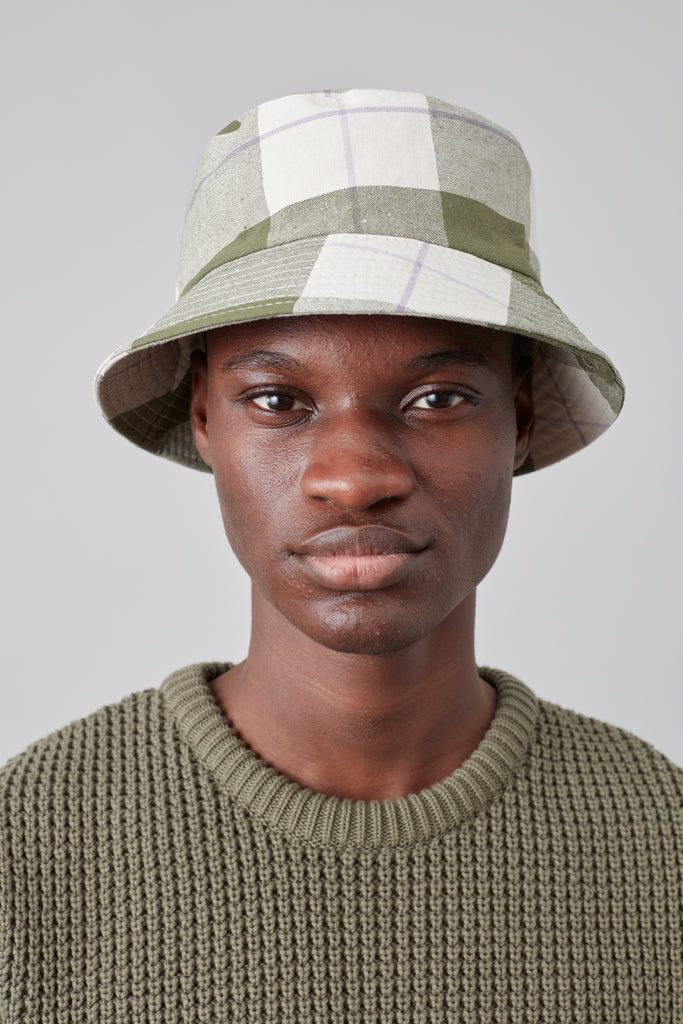 Shoom Hat – Check Pattern