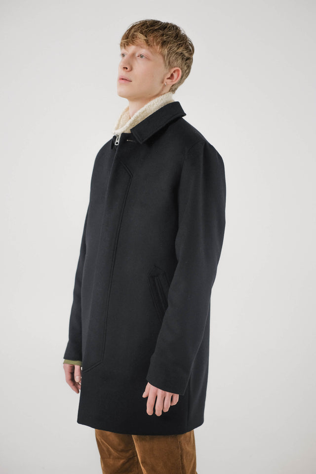 T-Coat Wool – Black