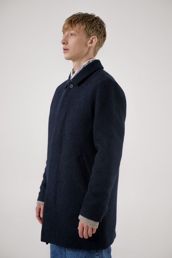 T-Coat Wool – Navy