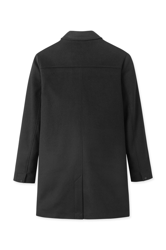 T Coat Wool – Black
