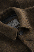 T Coat Wool – Brown