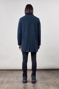 T Coat Wool – Navy