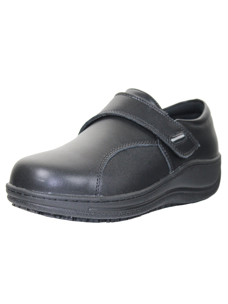 Slip Resistant Leather Shoes for Women - Tanleewa