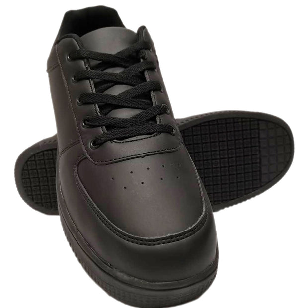 Mens Athletic Sneakers Professional Slip and Oil Resistant Work Shoes - Tanleewa