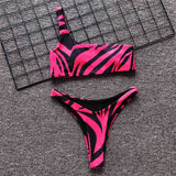 Print Fashion Cool Tracksuits Bandeau Top Two Piece Set Women Snug Nice Shorts Set High Street Club Spandex Cute Outfits