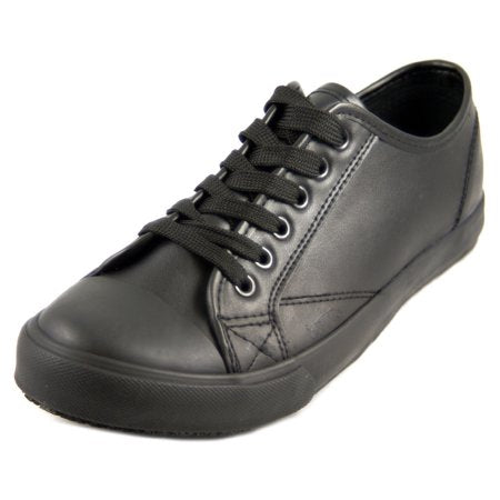 Women's Slip and Oil Resistant Trendy Non Slip Leather Work Shoes - Tanleewa